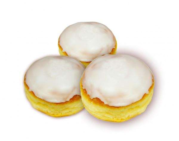 Pfannkuchen mit Zuckerglasur