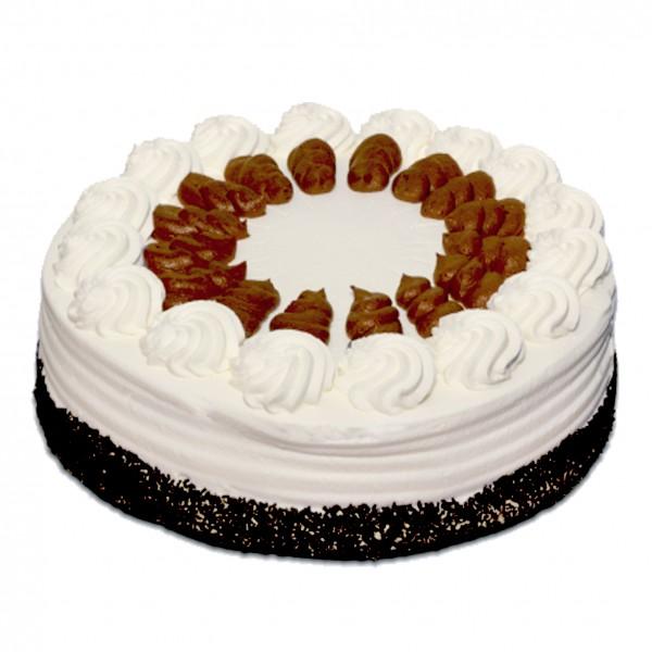 Nougat-Spezial-Sahne-Torte