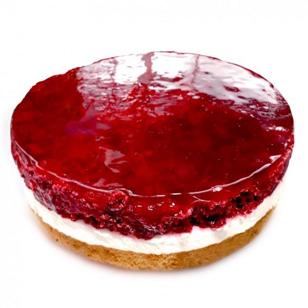 Himbeer-Quark-Sahne-Torte