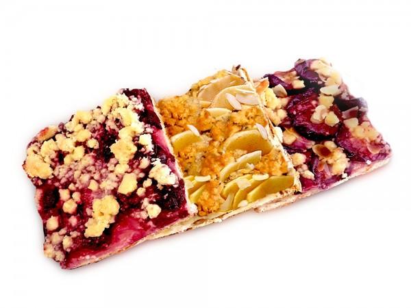 Doppelstück Obstkuchen